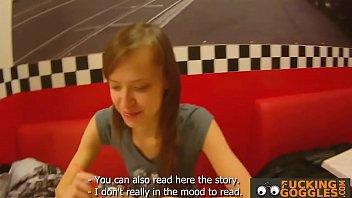 Russian Teen Gives A Blowjob