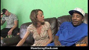 hot milf mom make a blowjob and ride a big black cock interracial 14