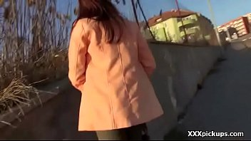 Public Fuck With Teen Amateur European Babe And Tourist 11