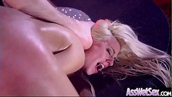 Anal Hardcore Bang With Slut Big Butt Oiled Girl (Jessie Volt) movie-16